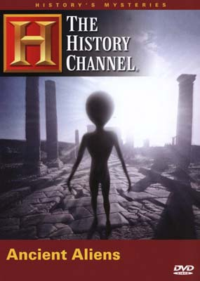 History Channel Presents: Ancient Aliens  (DVD) - Klik her for at se billedet i stor st�rrelse.