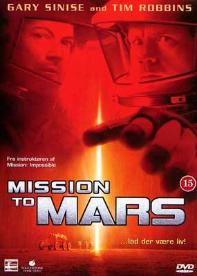 Mission to Mars (BRUGT)  (DVD) - Klik her for at se billedet i stor størrelse.