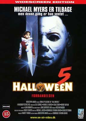 Halloween 5: Forbandelsen  (DVD) - Klik her for at se billedet i stor størrelse.