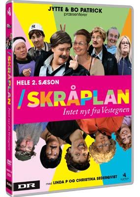 Skråplan: Hele 2. sæson  (DVD) - Klik her for at se billedet i stor størrelse.