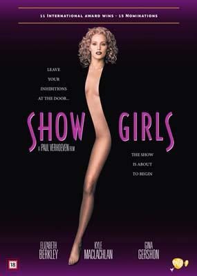 Showgirls  (DVD) - Klik her for at se billedet i stor størrelse.