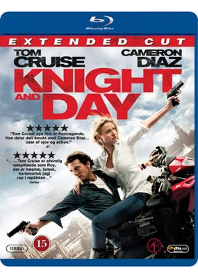 Knight and Day (Blu-ray & DVD) (BD) - Klik her for at se billedet i stor st�rrelse.