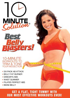 10 Minute Solution Best Belly Blasters  (DVD) - Klik her for at se billedet i stor størrelse.