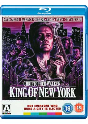 King of New York (Blu-ray) (BD) - Klik her for at se billedet i stor st�rrelse.