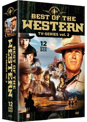 Best of The Western TV-Series: Vol. 2  (DVD) - Klik her for at se billedet i stor størrelse.
