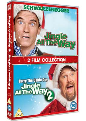 Jingle All the Way 1 & 2 (2 film) (DVD) - Klik her for at se billedet i stor størrelse.