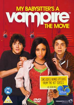 My Babysitter's a  Vampire: The Movie  (DVD) - Klik her for at se billedet i stor st�rrelse.