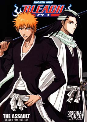Bleach:  Eps.  92-109 (Season 5: The Assault) (4-disc) (DVD) - Klik her for at se billedet i stor st�rrelse.