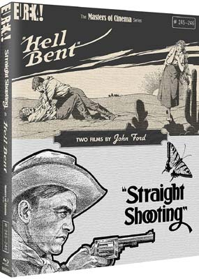 Straight Shooting & Hell Bent: Two Films by John Ford (Blu-ray) (BD) - Klik her for at se billedet i stor størrelse.