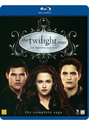 Twilight Saga, The: Complete   Collection (5-disc) (Blu-ray) (BD) - Klik her for at se billedet i stor størrelse.