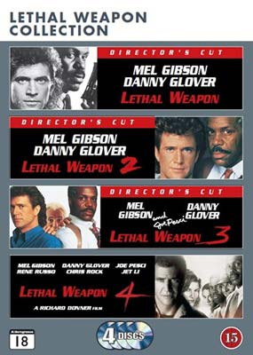 Lethal Weapon Collection (4 film) (DVD) - Klik her for at se billedet i stor st�rrelse.