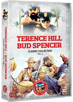 Terence Hill & Bud Spencer: Classic Collection, Vol. 2 (5 film) (DVD) - Klik her for at se billedet i stor størrelse.