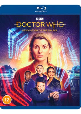 Doctor Who: Revolution of The Daleks (2020 New Year Special) (Blu-ray) (BD) - Klik her for at se billedet i stor størrelse.