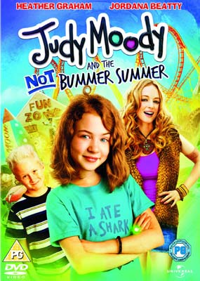 Judy Moody and the Not Bummer Summer  (DVD) - Klik her for at se billedet i stor st�rrelse.
