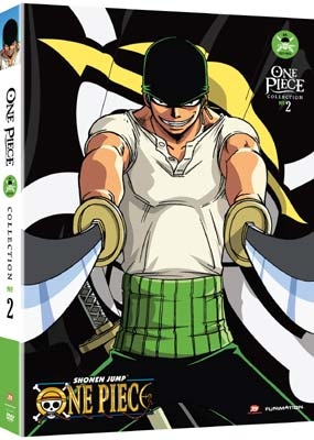 One Piece: Collection  2 - Episodes 27-53 (4-disc) (DVD) - Klik her for at se billedet i stor st�rrelse.