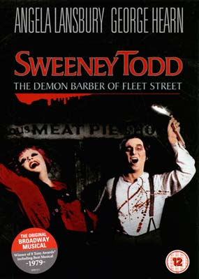 Sweeney Todd: The Demon Barber of Fleet Street (Angela Lansbury)  (DVD) - Klik her for at se billedet i stor st�rrelse.
