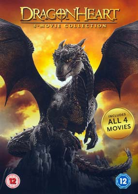 Dragonheart: 4-Movie Collection (4-disc) (DVD) - Klik her for at se billedet i stor størrelse.