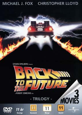 Back to the    Future  Trilogy (3-disc) (DVD) - Klik her for at se billedet i stor st�rrelse.