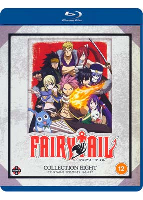 Fairy   Tail:  Collection    Eight (Episodes 165-187) (Blu-ray) (BD) - Klik her for at se billedet i stor størrelse.