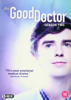 Good Doctor, The: Season 2 (5-disc) (DVD) - Klik her for at se billedet i stor størrelse.