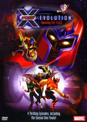 X-Men Evolution: Xposing the Truth  (DVD) - Klik her for at se billedet i stor st�rrelse.