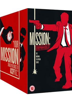 Mission Impossible: The Complete Series (47-disc)  (DVD) - Klik her for at se billedet i stor størrelse.