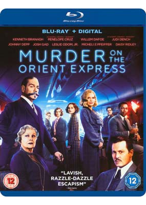 Murder on the Orient Express (Kenneth   Branagh) (Blu-ray) (BD) - Klik her for at se billedet i stor størrelse.