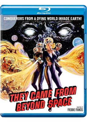 They Came from Beyond Space (Blu-ray) (BD) - Klik her for at se billedet i stor størrelse.