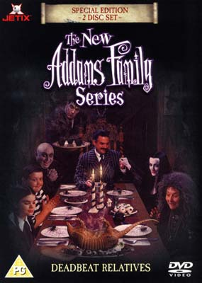 New Addams Family: Deadbeat Relatives (2-disc) (DVD) - Klik her for at se billedet i stor st�rrelse.