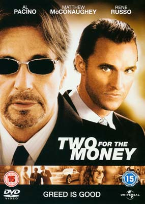 Two for the Money  (DVD) - Klik her for at se billedet i stor størrelse.