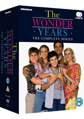 Wonder Years, The:   The Complete Series (22-disc) (DVD) - Klik her for at se billedet i stor størrelse.