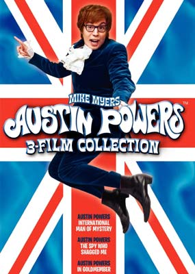 Austin Powers 3-Film Collection  (DVD) - Klik her for at se billedet i stor st�rrelse.