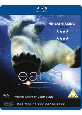 Earth - The Journey of a Lifetime (Blu-ray) (BD) - Klik her for at se billedet i stor st�rrelse.