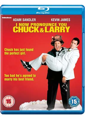 I Now Pronounce You Chuck and Larry (Blu-ray) (BD) - Klik her for at se billedet i stor størrelse.