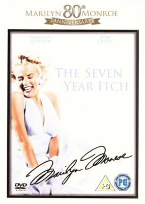 Seven Year Itch, The  (DVD) - Klik her for at se billedet i stor st�rrelse.