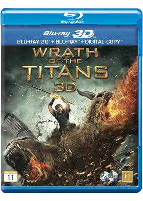 Wrath of the Titans (Blu-ray 3D) (BD) - Klik her for at se billedet i stor st�rrelse.