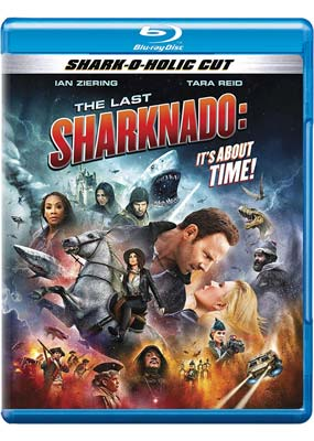 Last Sharknado, The: It's About Time (Blu-ray) (BD) - Klik her for at se billedet i stor størrelse.