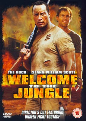 Welcome to the Jungle (The Rock)  (DVD) - Klik her for at se billedet i stor størrelse.