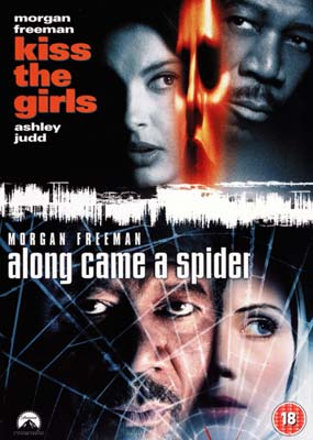 Kiss the Girls / Along Came a Spider (2 film) (DVD) - Klik her for at se billedet i stor st�rrelse.