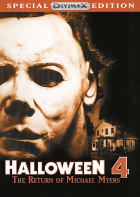 Halloween 4: The Return of Michael Myers  (DVD) - Klik her for at se billedet i stor størrelse.