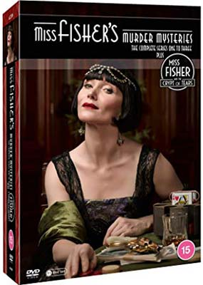 Miss Fisher's Murder Mysteries:  Series 1-3 & The Crypt of Tears (11-disc) (DVD) - Klik her for at se billedet i stor størrelse.
