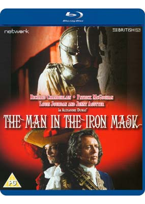 Man in the Iron Mask, The (Richard Chamberlain) (Blu-ray) (BD) - Klik her for at se billedet i stor størrelse.