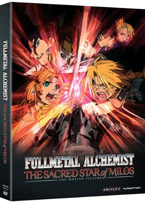 Fullmetal Alchemist - Movie 2: The Sacred Star of  Milos  (DVD) - Klik her for at se billedet i stor st�rrelse.