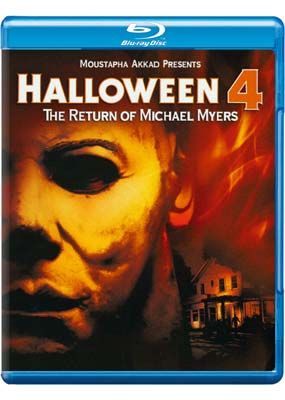 Halloween 4: The Return of Michael Myers (Blu-ray) (BD) - Klik her for at se billedet i stor st�rrelse.