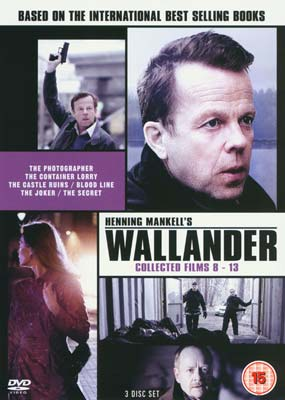 Wallander: Collected  Films  8-13 (3-disc) (DVD) - Klik her for at se billedet i stor størrelse.