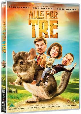 Alle for Tre  (DVD) - Klik her for at se billedet i stor størrelse.