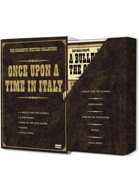 Once Upon a Time in Italy: The Spaghetti Western Collection  (DVD) - Klik her for at se billedet i stor st�rrelse.