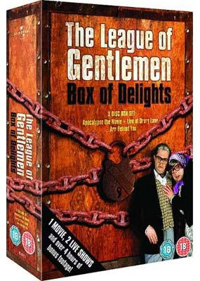 League of Gentlemen, The: Box of Delights (3-pack) (DVD) - Klik her for at se billedet i stor st�rrelse.