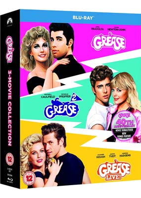 Grease Collection: Anniversary Edition (Blu-ray) (BD) - Klik her for at se billedet i stor størrelse.