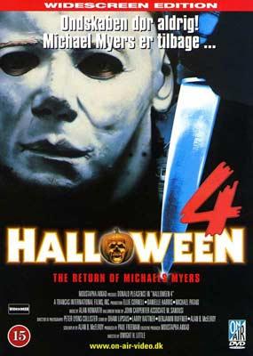 Halloween 4  (DVD) - Klik her for at se billedet i stor størrelse.